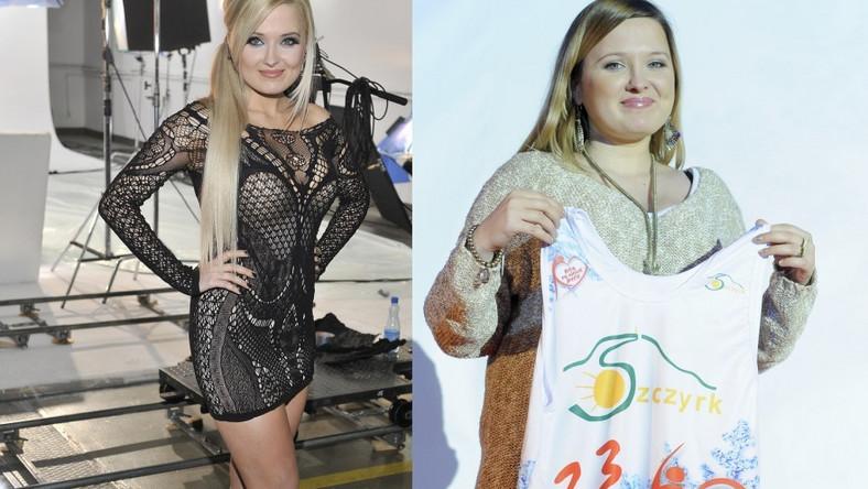 Na zdjęciu po lewej można zobaczyć, jak artystka wyglądała a w 2010 roku. Po prawej: jej najnowsza fotografia