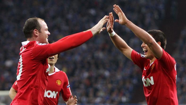 Piłkarze Man Utd cieszą się ze strzelenia gola