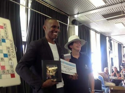 Wellington Jighere won the English-Language World Scrabble Championship in 2015