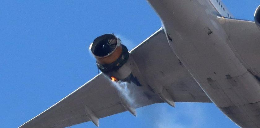 Awaria silnika w samolocie. Boeing zaleca wstrzymanie lotów