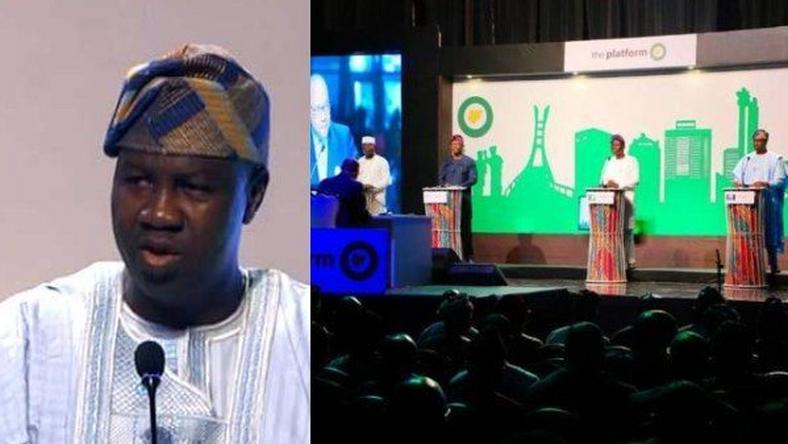 The Lagos Platform Governorship debate held on January 13, 2019 (Lailas Blog)