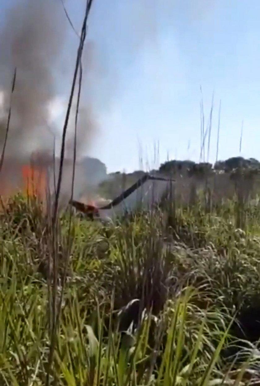 Katastrofa samolotowa w Brazylii z udziałem piłkarzy