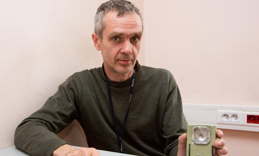 Policjant Jacek Gutmanski