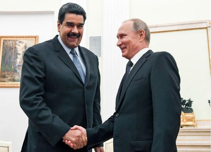 Nikolas Maduro i Vladimir Putin AP