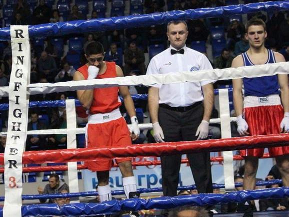 Naš bokserski sudija Aleksandar Vučićević