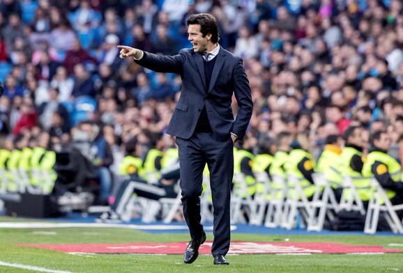 Santijago Solari, trener Reala