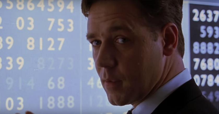 """Profesor Nash, postać, w którą Russell Crowe wcielił się w """"Pięknym umyśle"""", wykładał na MIT"""