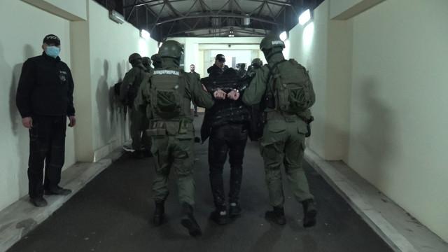 Veljko Belivuk i članovi njegove grupe dovedeni na saslušanje u TOK