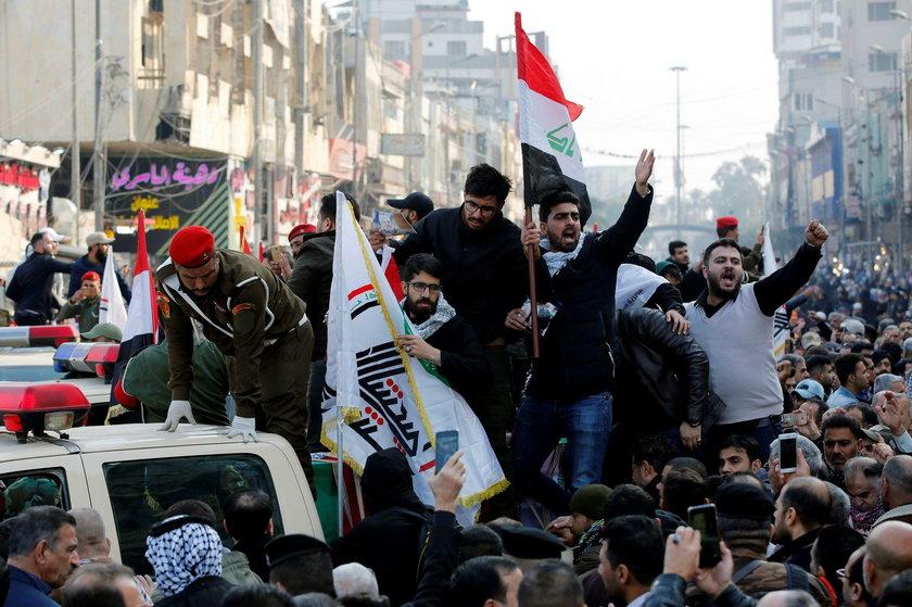 Bliski Wschód płonie, a Donald Trump dolewa benzyny