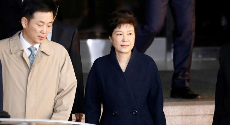 South Korea's ousted leader Park Geun-hye is accused of multiple offences including bribery, leaking government information, and abuse of power