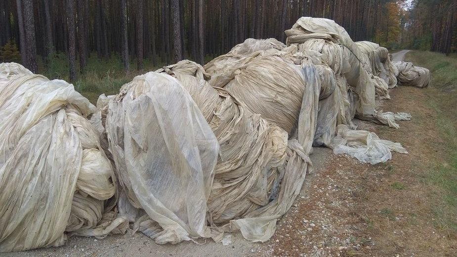 Odpady w Nadleśnictwie Złoczew