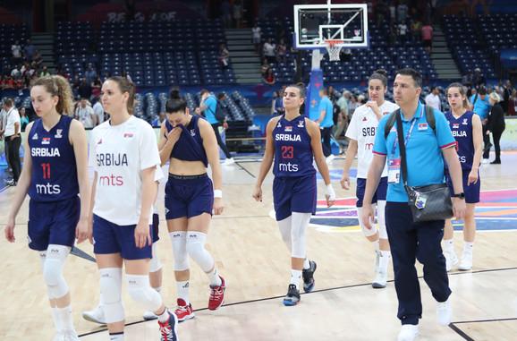 Košarkašice Srbije izlaze sa parketa