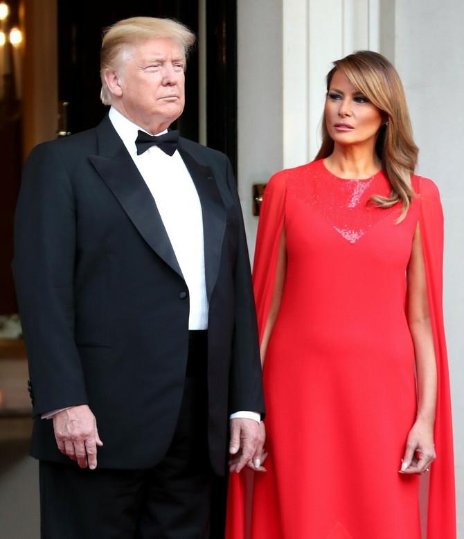 Donald i Melanija Tramp
