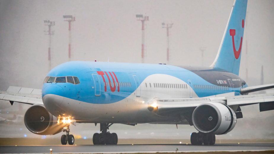 Samolot TUI Boeing 767-300ER (zdjęcie ilustracyjne)