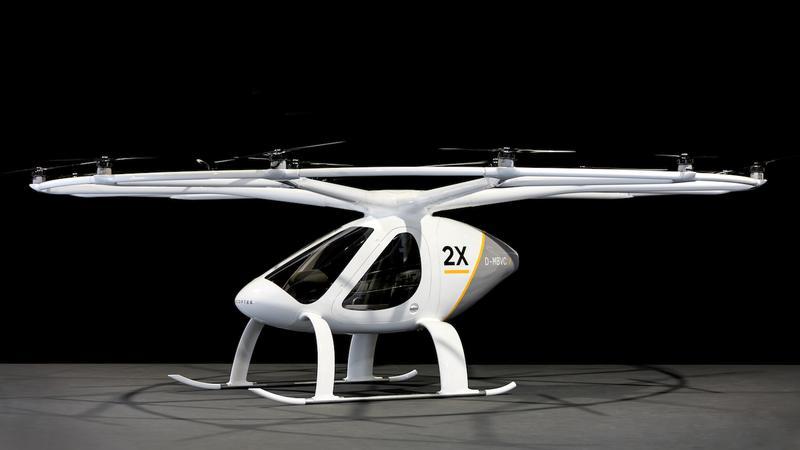 Volocopter 2X - latająca taksówka