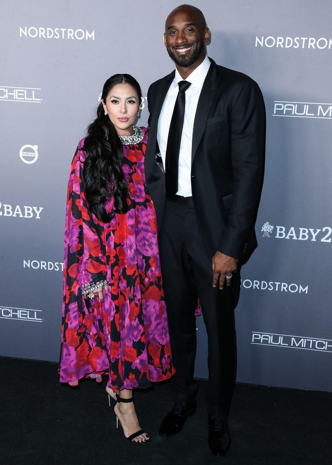 Kobi i Vanesa Brajant u novembru 2019. u Los Anđelesu