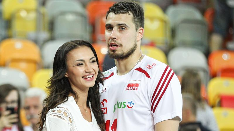 Fabian Drzyzga z dziewczyną