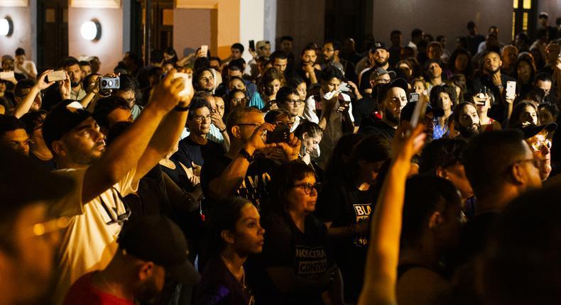 Puerto Rico leadership in turmoil amid calls for Ricardo Rosselló to resign