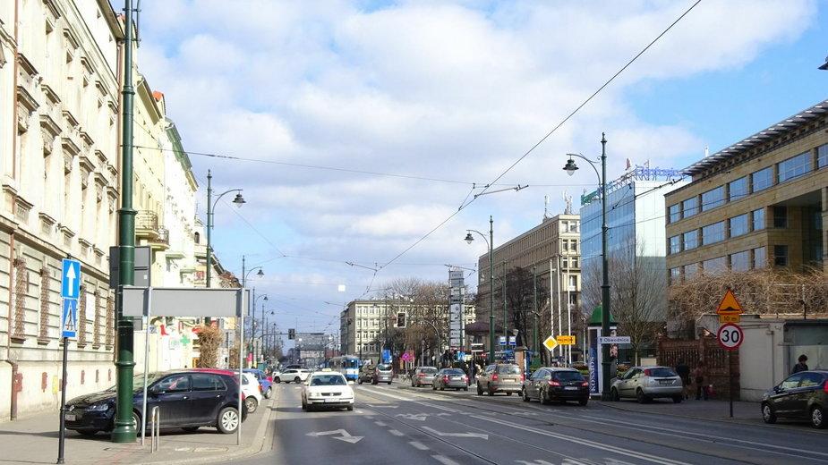 Ulica Lubicz w Krakowie
