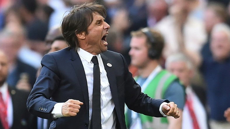 Antonio Conte won three straight Serie A titles with Juventus and a Premier League title with Chelsea