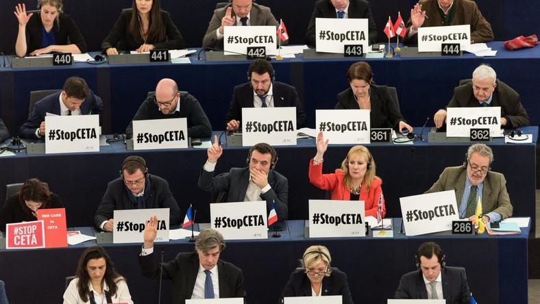 Parlament Europejski ratyfikował umowę CETA