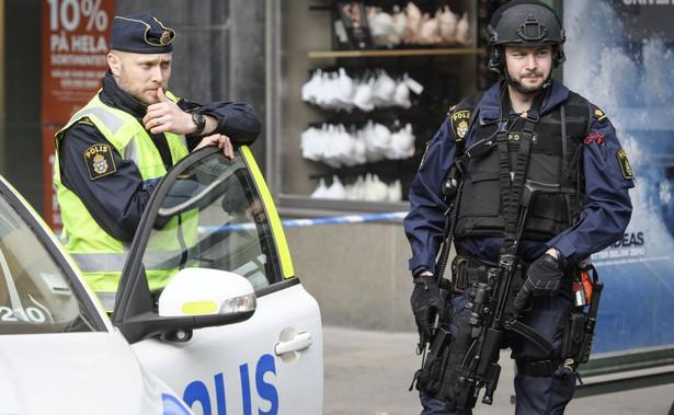 Policja w Sztokholmie