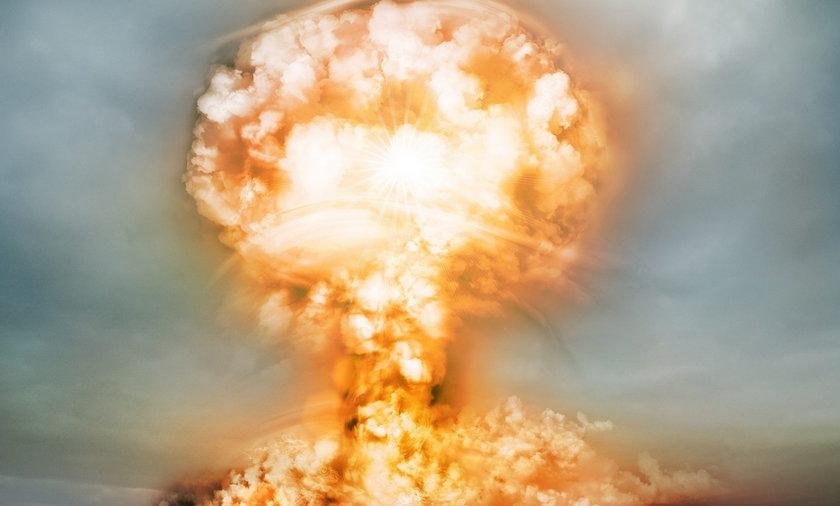 Grzyb atomowy.