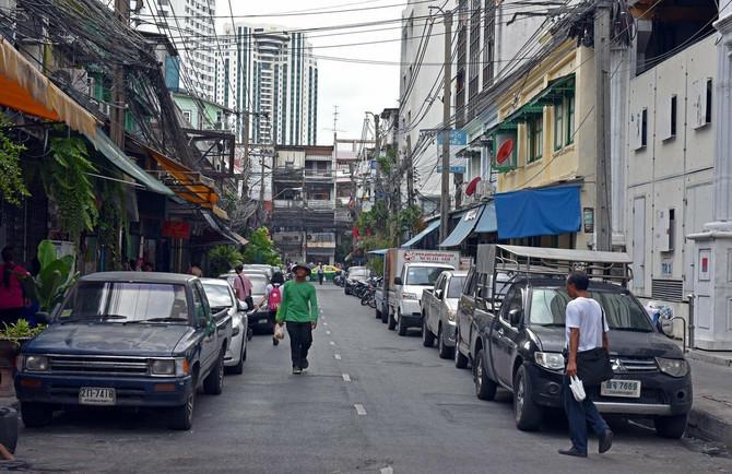 Ulice Bangkoka se mnogo razlikuju od beogradskih