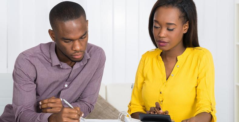 Set financial goals with your spouse