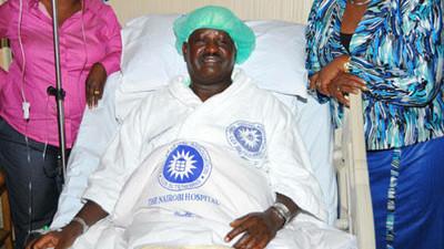 How Kenyans have reacted to Raila Odinga's admission at Nairobi Hospital