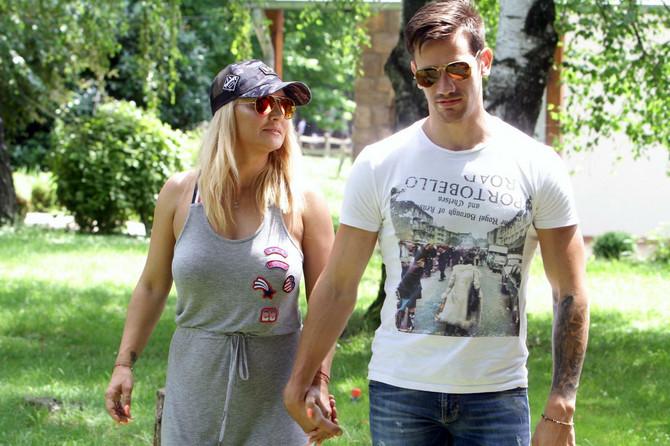 Goca Tržan sa suprugom Rašom Novakovićem