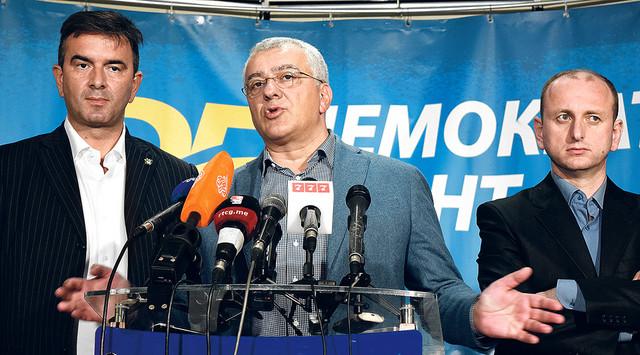 Lideri Demokratskog fronta pristali da podrže manjinsku vladu