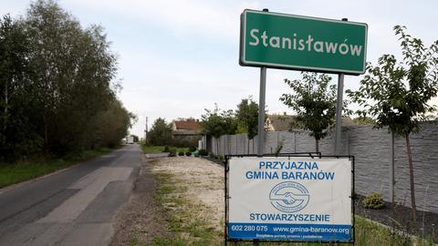 Miejscowość Stanisławów w gminie Baranów