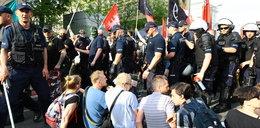 Marsz nacjonalistów w Warszawie. Interweniowała policja