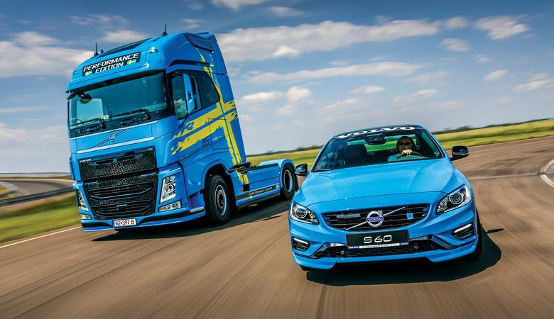 Volvo S60 Polestar vs Volvo FH 540 Performance Edition
