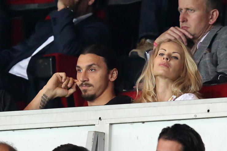 Zlatan Ibrahimović i supruga Helena