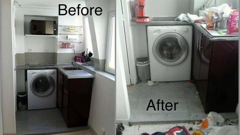 Mieszkanie Laurie przed i po wynajmie