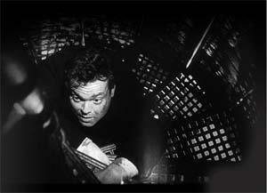 """Kadr z filmu """"Trzeci człowiek"""""""