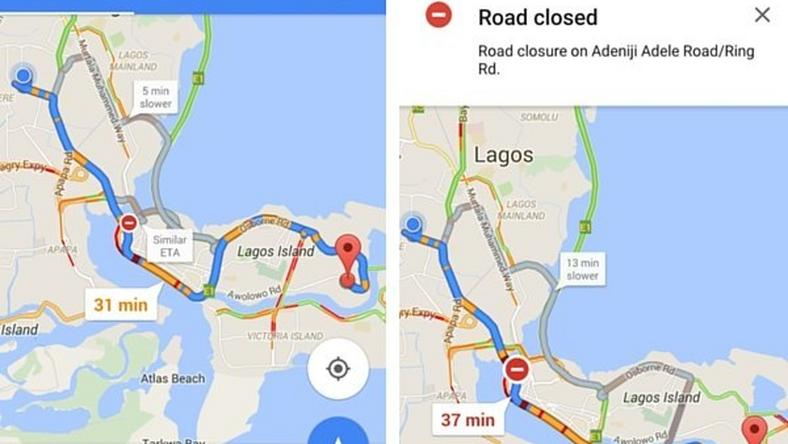 Google Maps Now Has Live Traffic Updates For Users In Nigeria Kenya