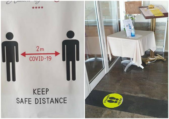 U hotelima se strogo pridržavaju mera zaštite