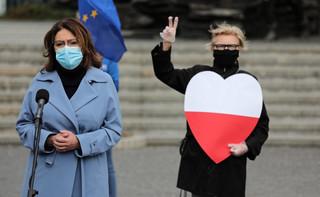 Kidawa-Błońska: Nikt kto szanuje Polskę nie powinien uczestniczyć w takich wyborach