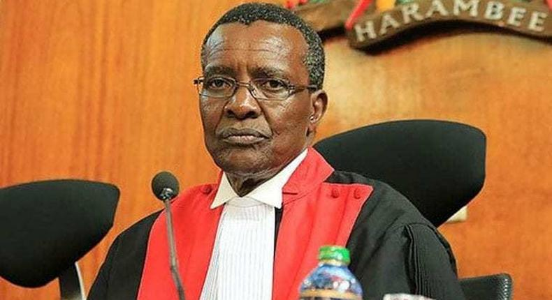 Uhuru should be Impeached – Rtd. CJ David Maraga