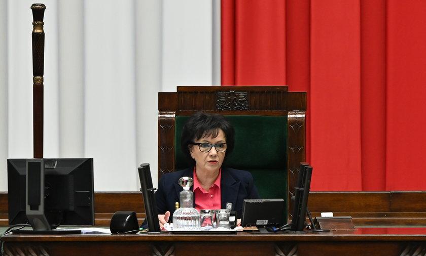 Elżbieta Witek złoży zawiadomienie do prokuratury na posła Grzegorza Brauna.