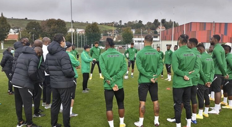 Super Eagles camp opens with Netherlands-based goalkeeper Maduka Okoye ahead of the double-header against Sierra Leone