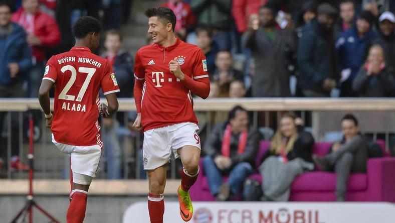 Robert Lewandowski David Alaba
