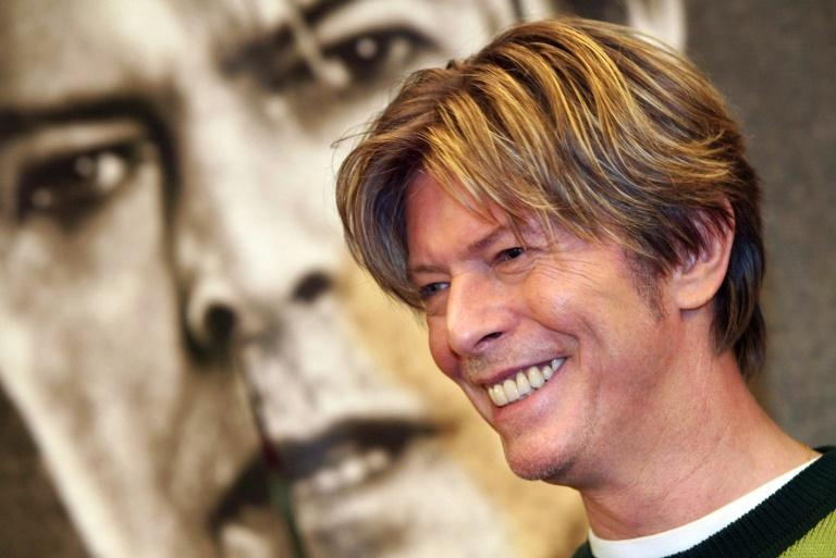 "British singer David Bowie, pictured in 2002, said ""Space Oddity"" was inspired by filmmaker Stanley Kubrik's epic film ""2001"""
