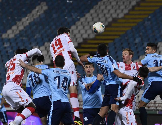 Detalj sa utakmice Crvena zvezda - Bačka