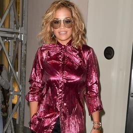 Rita Ora w koszmarnej stylizacji. Co ona na siebie założyła?!