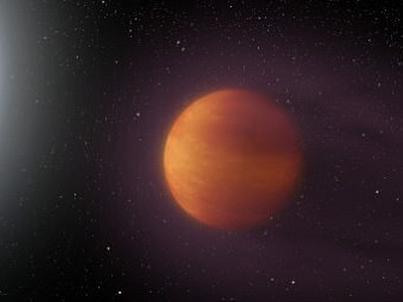 KELT-9b (wizualizacja po prawej stronie) to najgorętsza z dotychczas odkrytych planet. Temperatura na niej jest niewiele niższa od tej, panującej na Słońcu