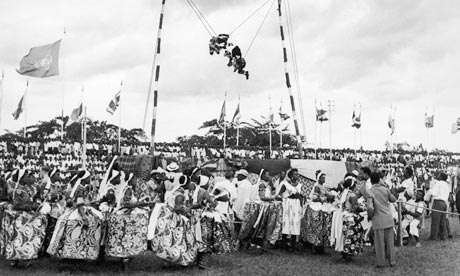 Nigeria celebrates her Independence in 1960 [Credit - Lost PHOTOS]